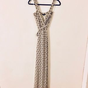 TART Camille Maxi Wrap Dress, Size Small